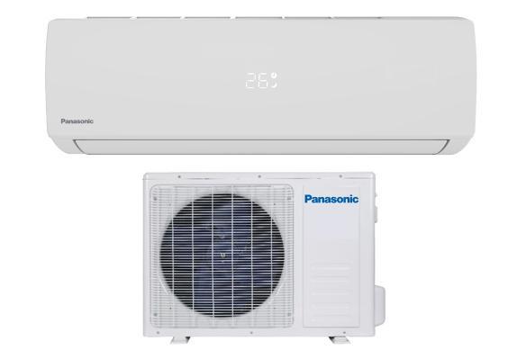 Panasonic YE12WKU1 12000 BTU Single Zone Mini Split System - Heating Capabilities to -13°F - 115 Volt