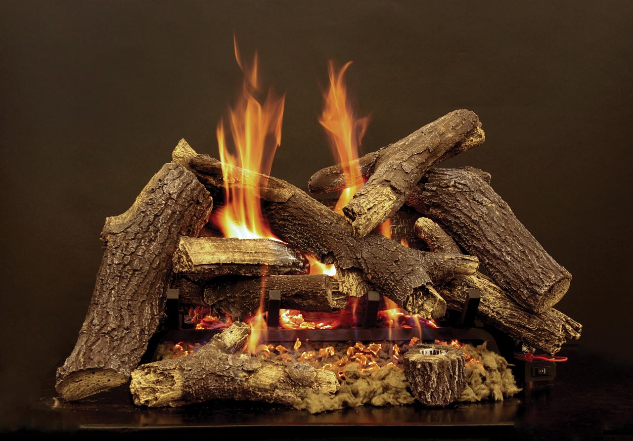 White Mountain Hearth Pioneer Log Set - Choice of Burner
