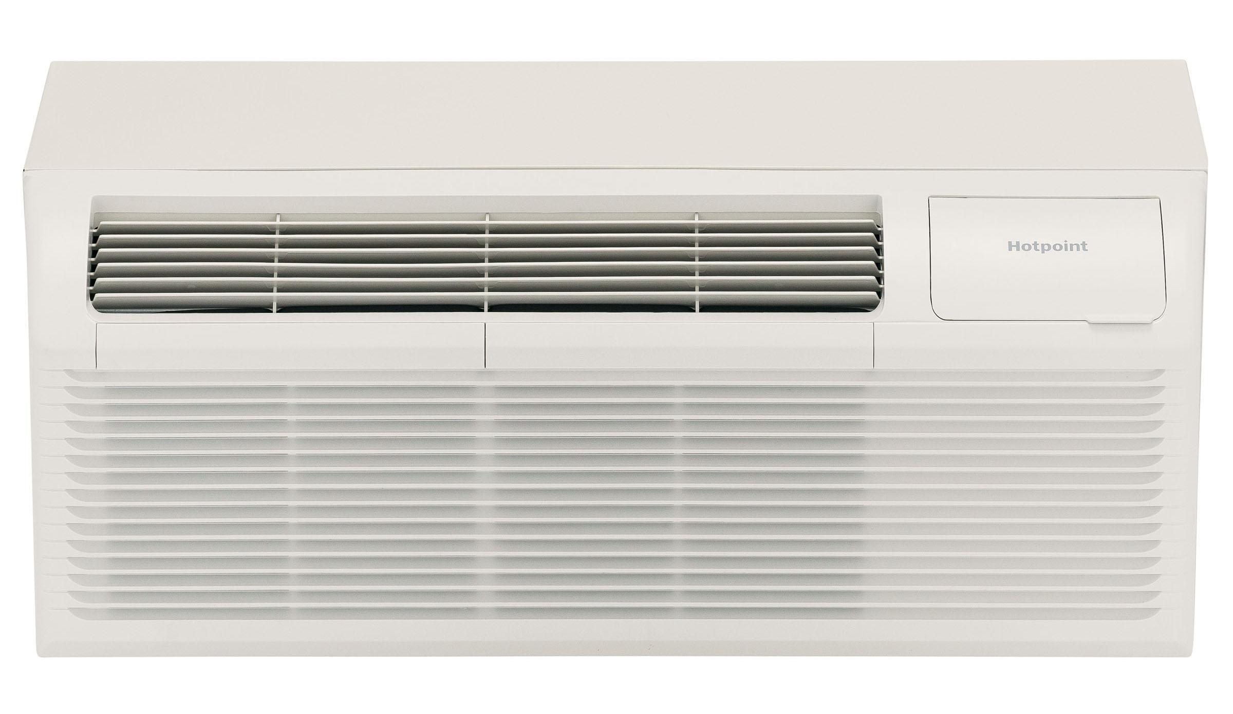 Hotpoint AH11H12D3B 12000 BTU PTAC Air Conditioner with Heat Pump - 20 Amp - 208/230 Volt