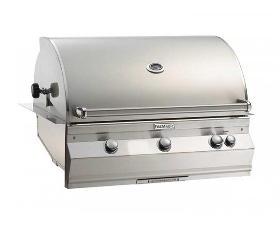 """Fire Magic A790i-8EAP Aurora 36"""" Built-In Gas Grill with Backburner and Rotisserie - Liquid Propane"""