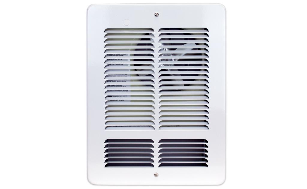 King W2410-W 1000/500 Watt Fan-Driven Wall Heater - 240V
