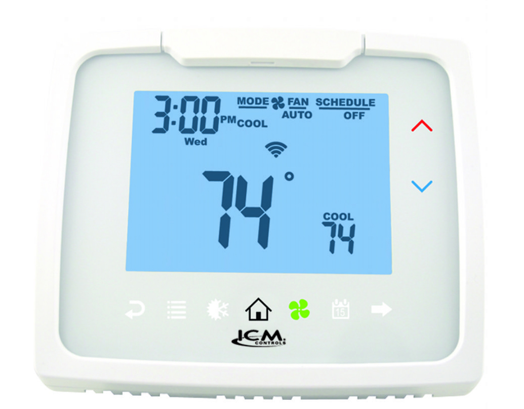 ICM i2020WR 2 Stage Heat/2 Stage Cool Programmable WiFi Thermostat