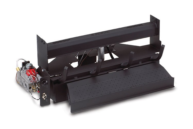 RH Peterson Real-Fyre G1816/1812N Vent Free Burner with Automatic Pilot and On/Off Remote - Natural Gas