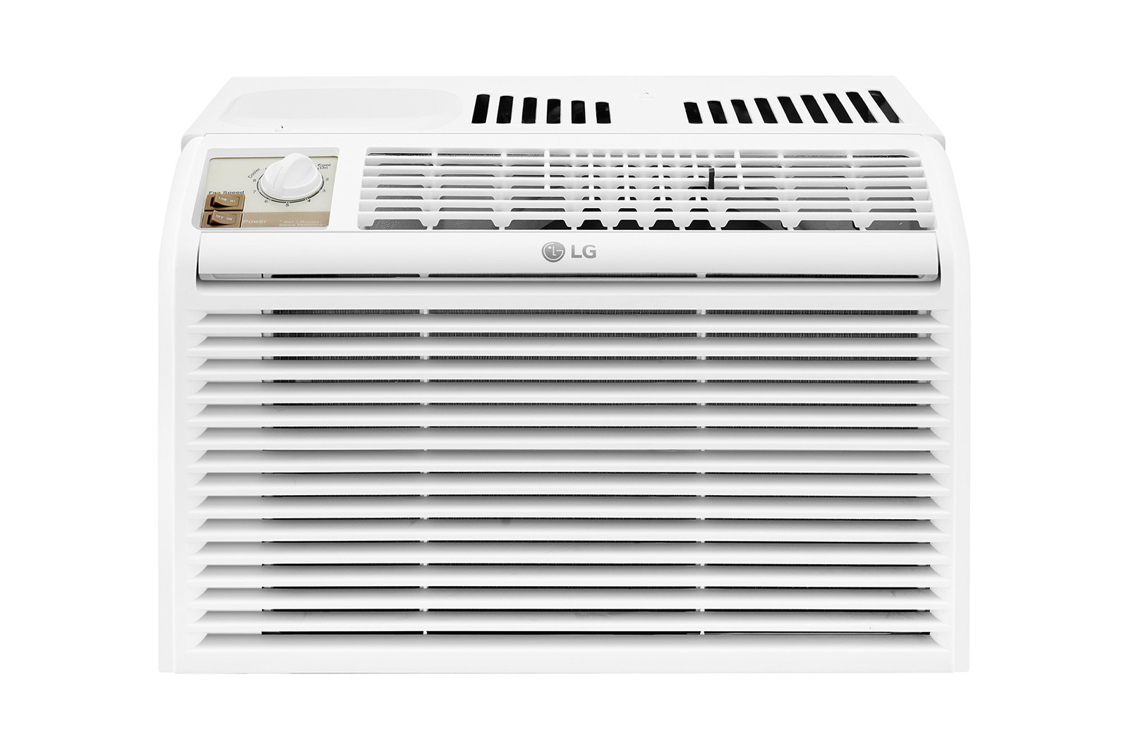 LG LW5016 5000 BTU Window Air Conditioner with Manual Controls - 115V