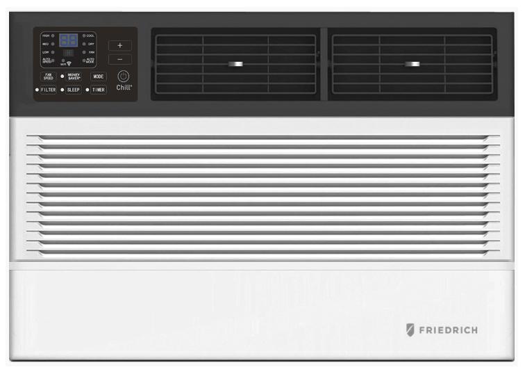 Friedrich CCW10B10A 10000 BTU Chill Premier Smart Window Air Conditioner