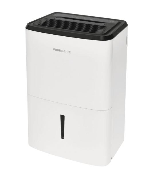 Frigidaire FFAP5033W1 50 Pint Dehumidifier with Pump - Energy Star