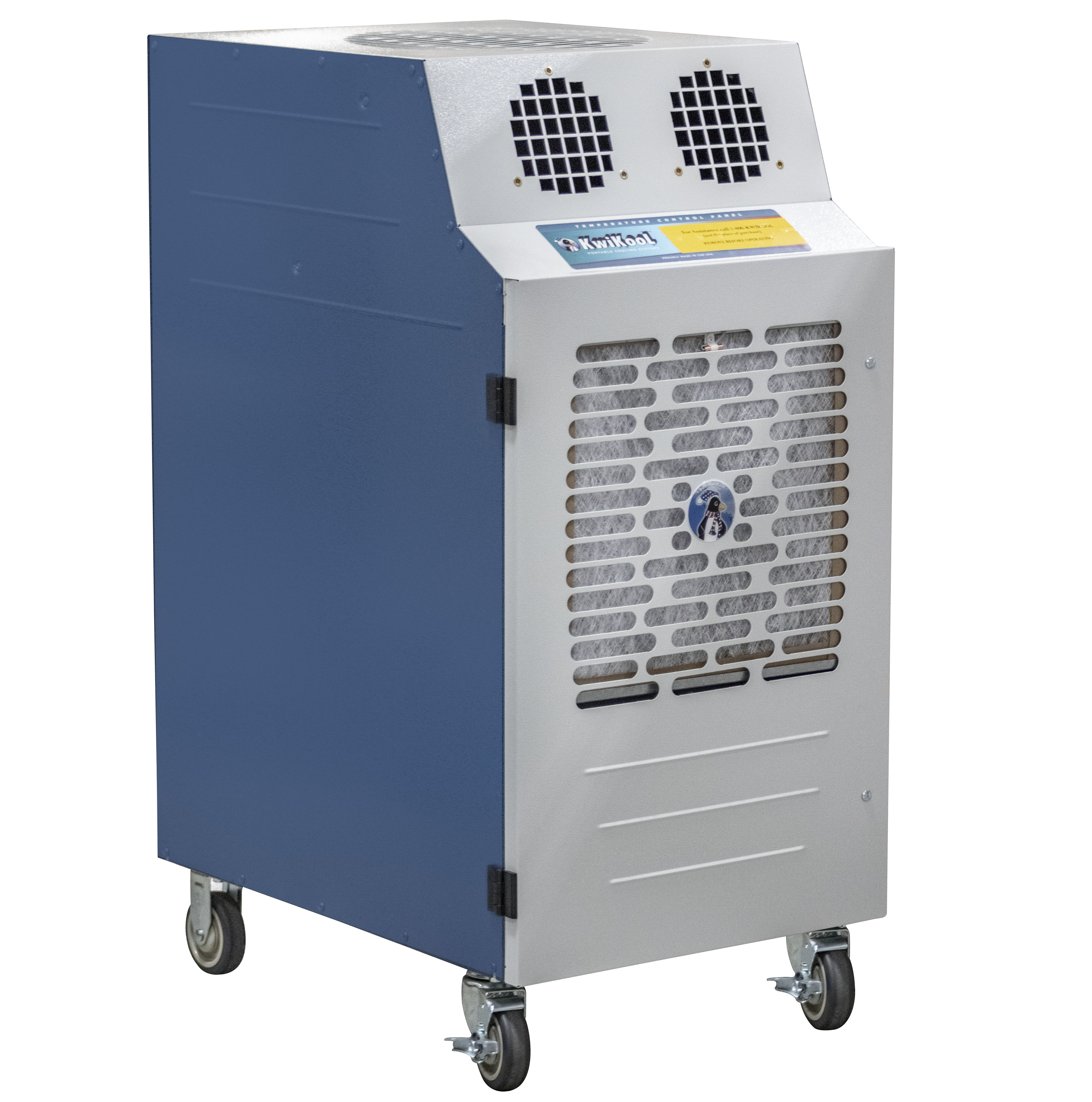 Kwikool KPAC2421-2 KPAC II Series 22,900 BTU Portable Spot Cooler for High Temp Areas