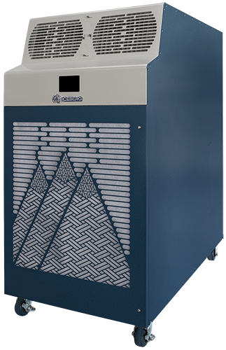 Kwikool KIB12023 Iceberg Series 120,000 BTU Two Stage Portable Separated Air Cooling System - 230 Volt/3 Phase