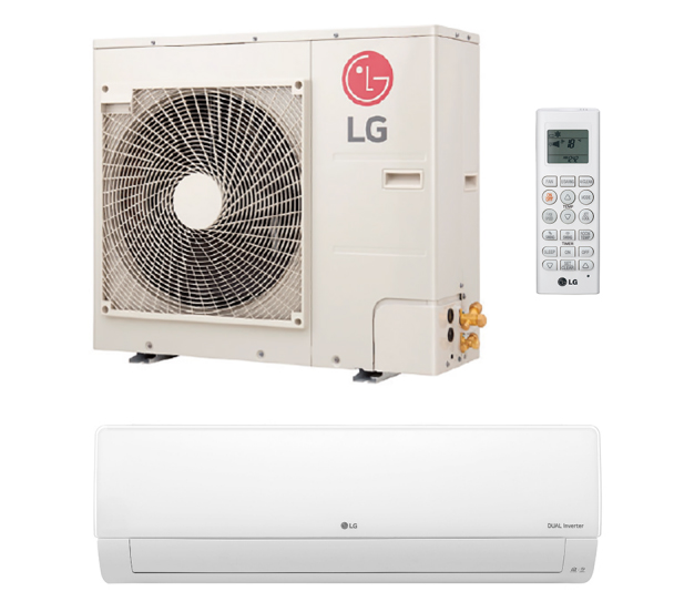 LG LA150HYV3 15000 BTU 25.0 SEER Art Cool Premier Single Zone Mini Split System with Heat Pump and Built-In WiFi - Energy Star