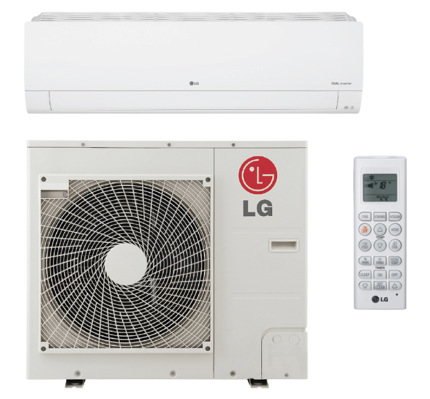 LG LS303HLV3 30000 BTU High Efficiency Built-In WiFi Single Zone Mini Split System with Extended Pipe