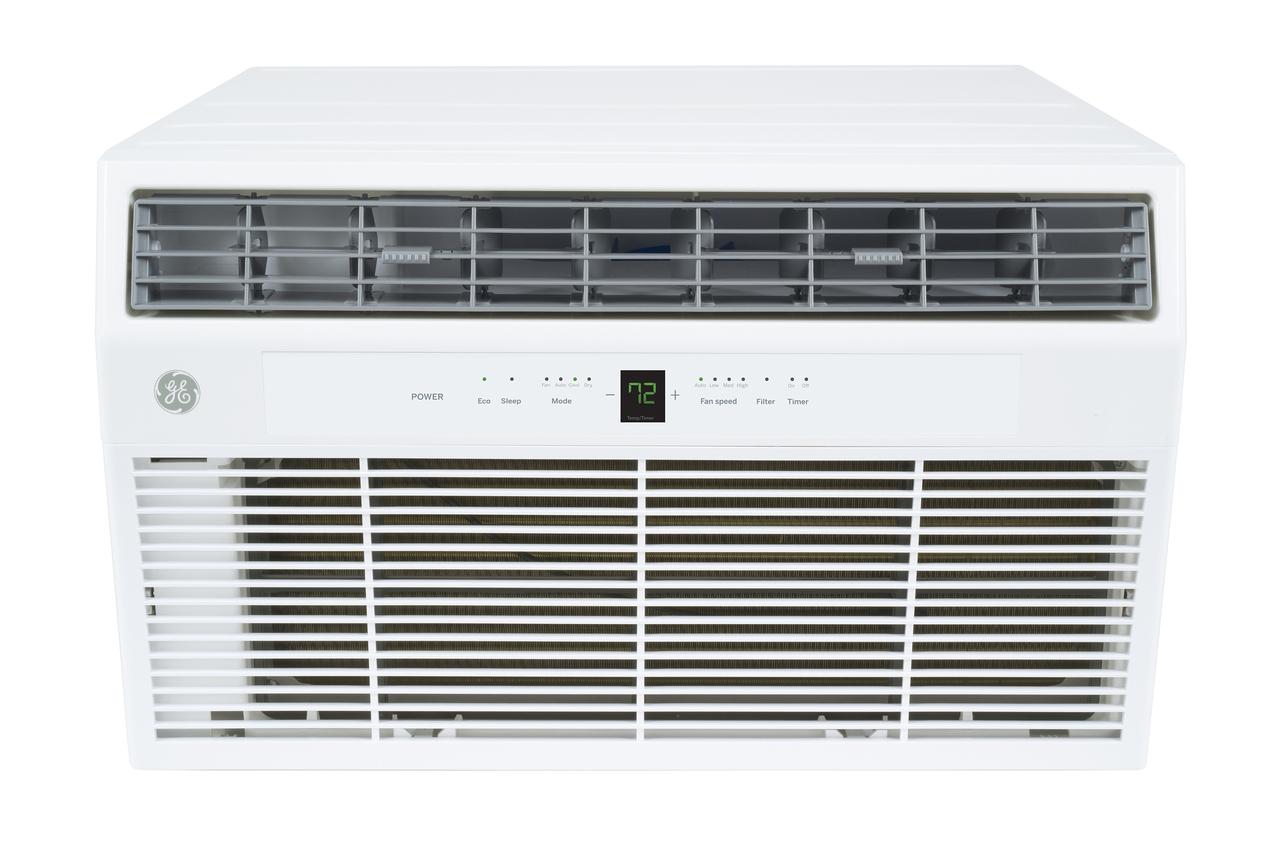 GE AKCQ08ACH 8000 BTU Through-the-Wall Room Air Conditioner - 115V