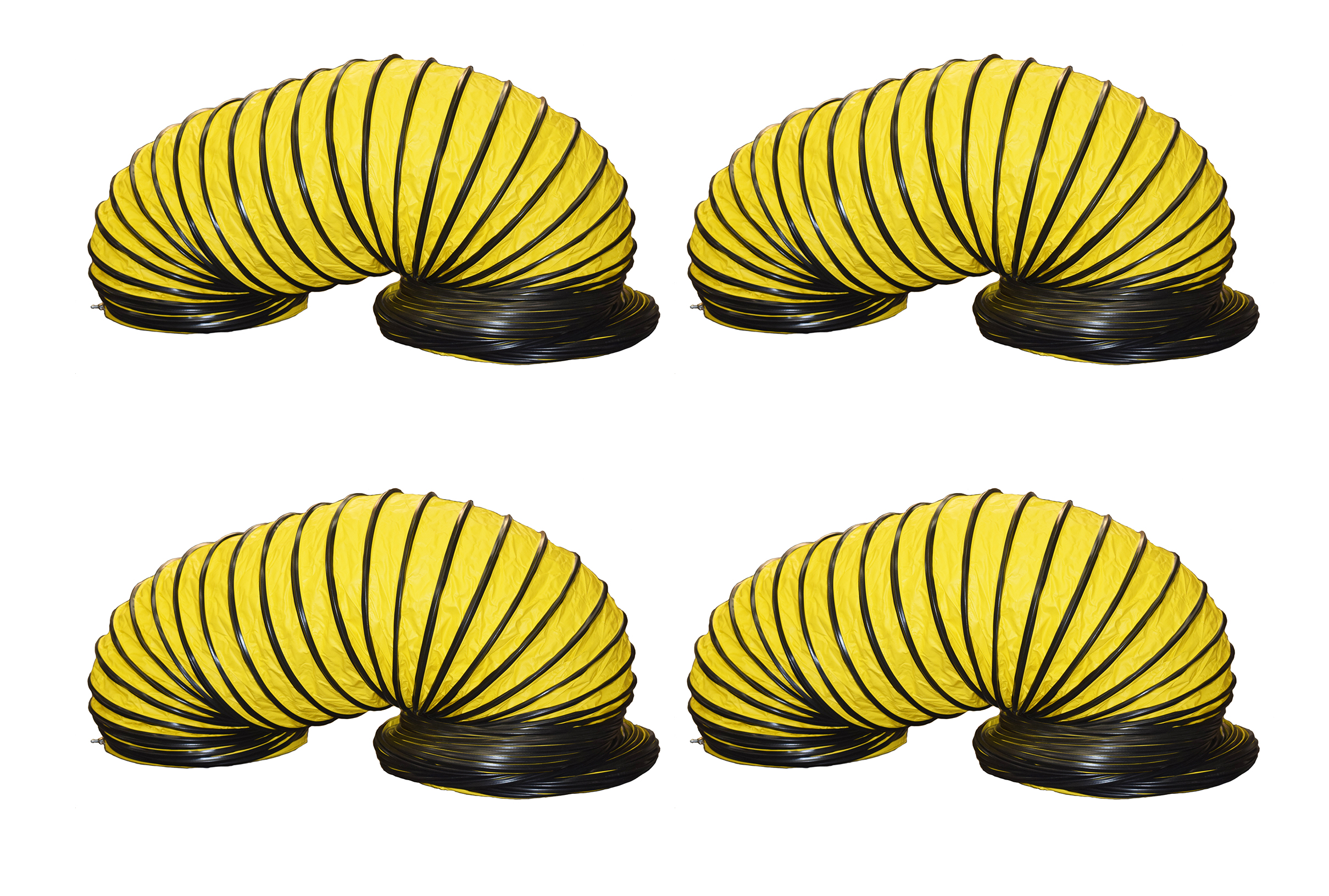 """Kwikool KK-DUCT20OD-25-4 Set of Four 25 Foot Long 20"""" Hot Air Duct for KPO25"""