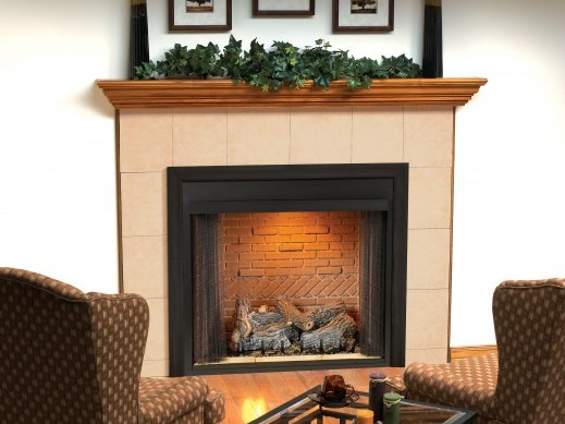 White Mountain Hearth VFS42FB0F Select 42 Breckenridge, Vent-Free Firebox with Flush Face