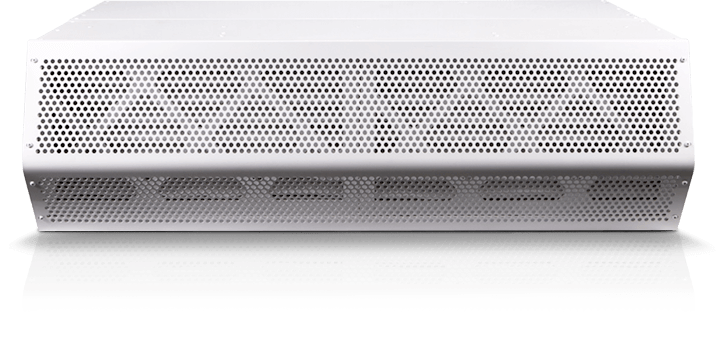 """Mars Air Systems STD272-2UD-OB-HCP 72"""" Standard 2 Clean Air Series Unheated Air Curtain with HEPAC Protection, 208/230 Volt"""