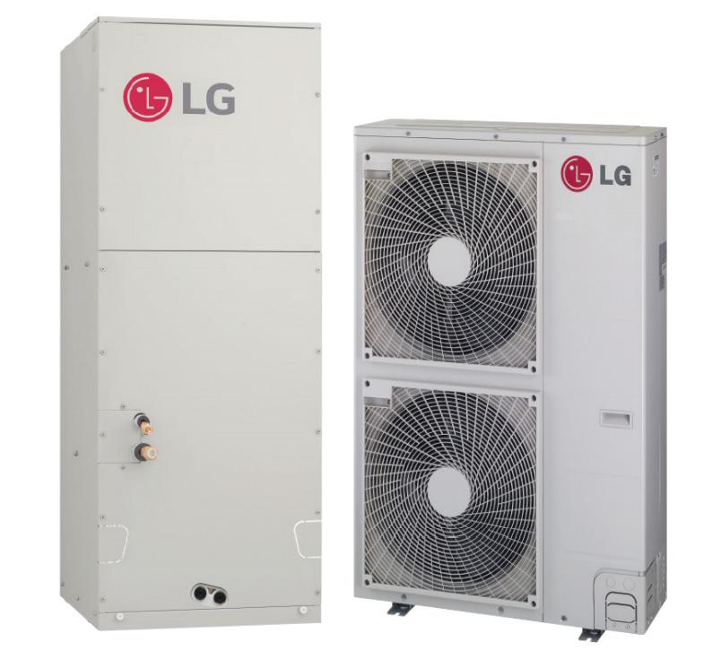 LG LV480HHV 48000 BTU Single Zone LGRed Mini-Split System with Multi-Position Air Handler with Heat Pump