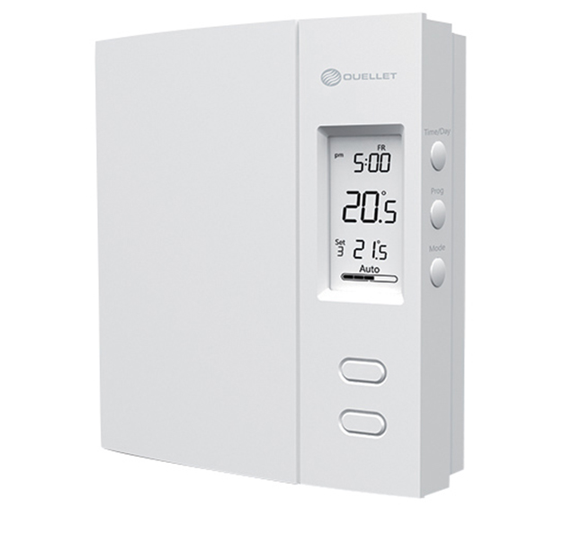 Ouellet OTH4000P Programmable Line Voltage Wall Thermostat