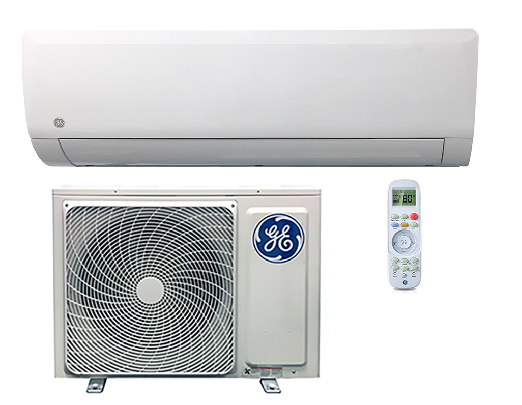 GE ASH115PRDWA / ASYW15PRDWB 15000 BTU Altitude Series Single Zone Mini Split - Heat and Cool - 208/230V