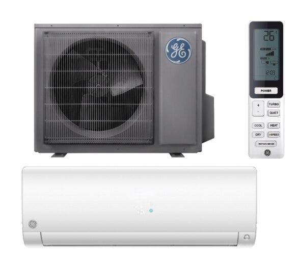 GE ASH109URDSD / ASYW09URDWD 9000 BTU Endure Series 30 SEER Single Zone Mini Split - Heat and Cool - 208/230V