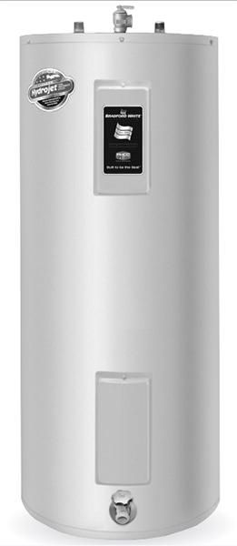 Bradford White RE250T6 50 Gallon Upright Electric Water Heater, 240 Volt/4500 Watts