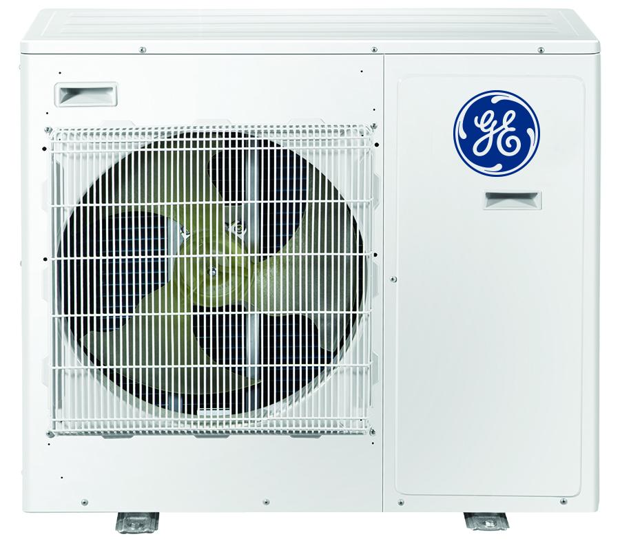 GE ASH220NCDWA 20,000 BTU Configurable 2 Zone Mini-Split Air Conditioner with Heat Pump - Energy Star