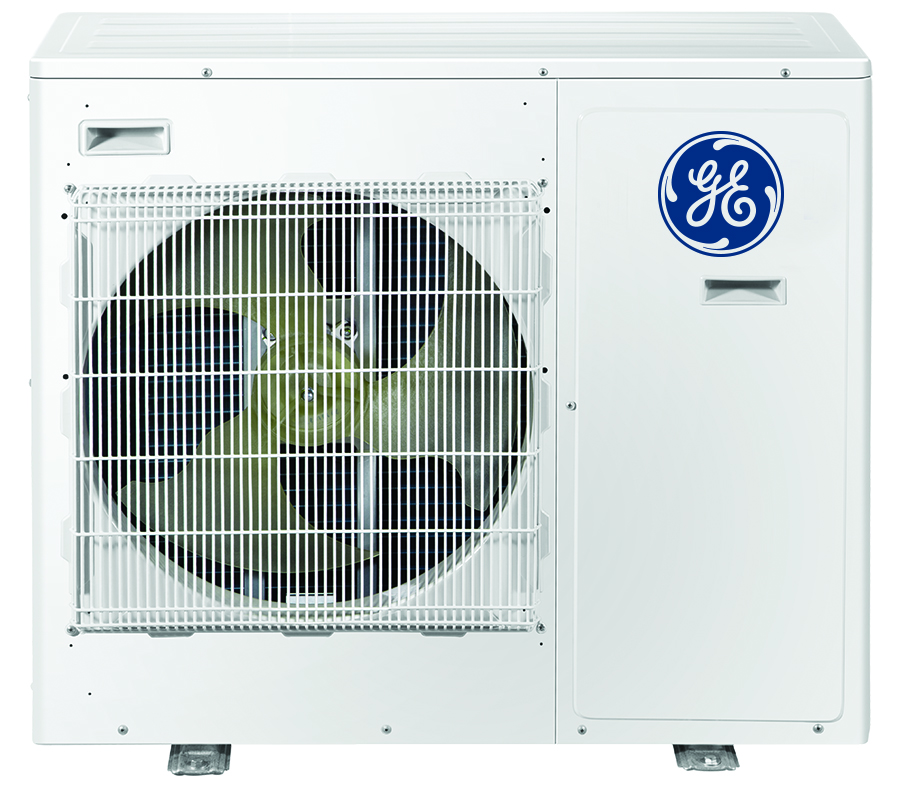 GE ASH324NCDWA 24,000 BTU Configurable 3 Zone Mini-Split Air Conditioner with Heat Pump - Energy Star
