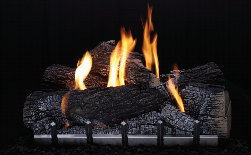 White Mountain Hearth OLX24WR Outdoor Wildwood Refractory Logs for Harmony Outdoor Burner (LOGS ONLY)