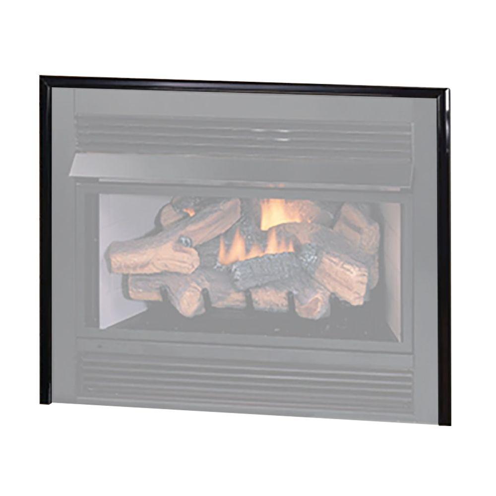 Superior PT32 3-Piece Trim Kit in Black for VRT4032 Fireplace