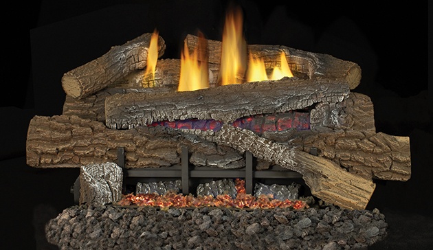 """Superior BGE18NV 18"""" Vent Free Glow Ramp Burner with Variable Valve and Remote - Natural Gas"""
