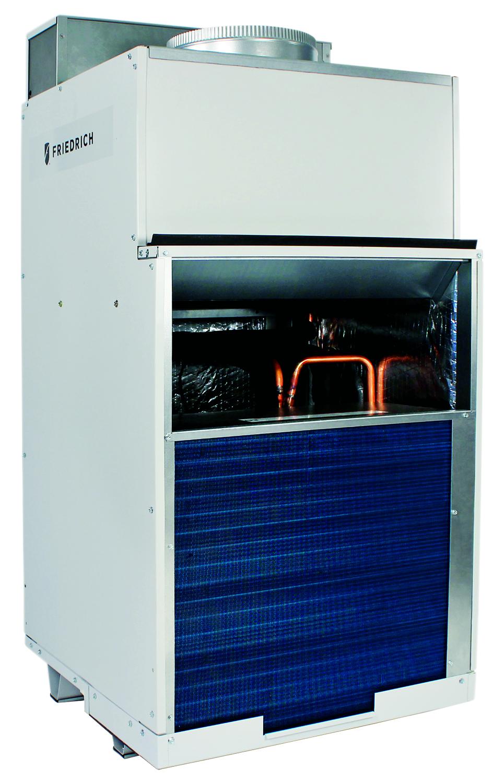Friedrich VHA18K34RTP Vert-I-Pak 18000 BTU Class Single Vertical Packaged Air System with Heat Pump - 11 EER - 20 Amp