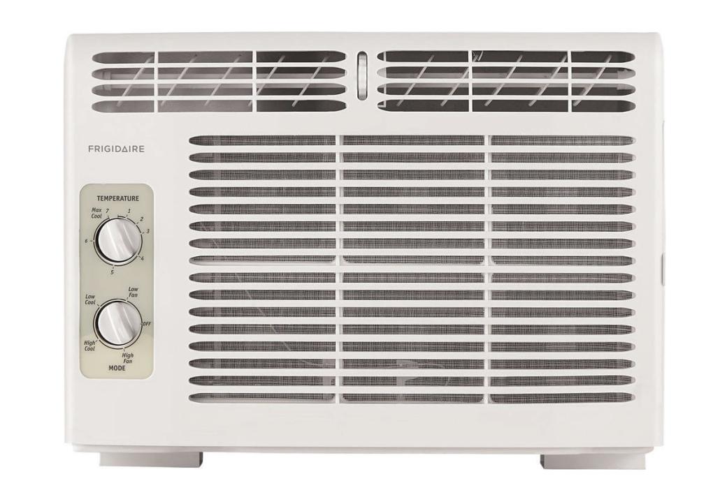 Frigidaire FFRA051WA1 5,000 BTU Window Unit Room Air Conditioner, Manual Control