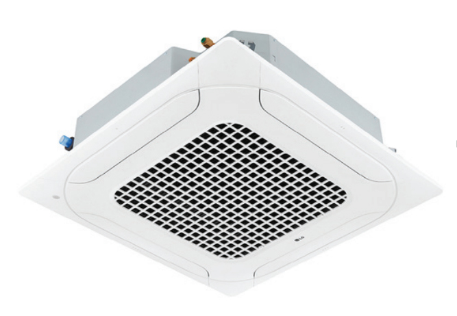 LG LCN249HV-PTAAGW0 24000 BTU 4-Way Ceiling Cassette with Grille Indoor Unit - Heat and Cool
