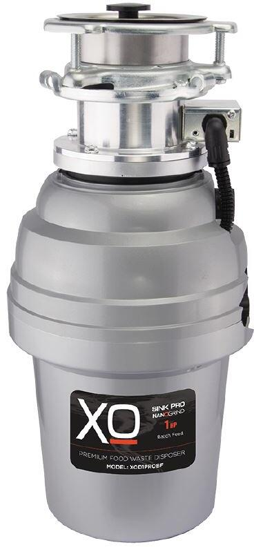 XO XOD1PROBF Batch Feed 1.0 HP Garbage Disposer with Power Cord