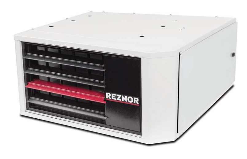 Reznor UDZ-75 75,000 BTU Single Stage Gas Fired Separated Combustion Unit Heater