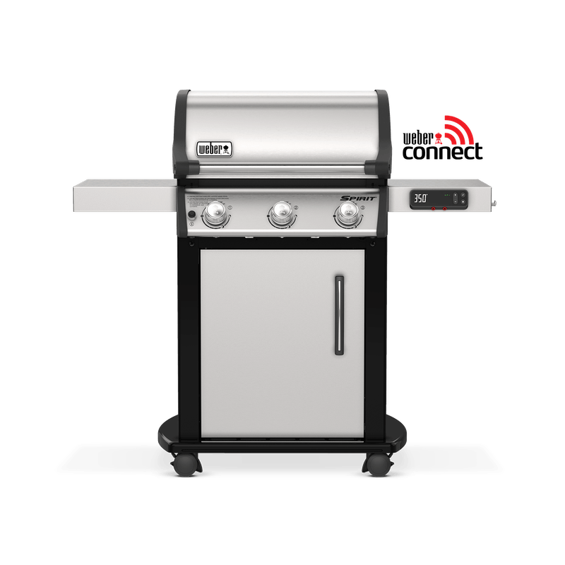 Weber 47502401 Spirit SX-315 Freestanding Smart Grill Gas Grill - NG - Stainless Steel