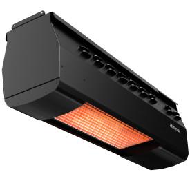 Rinnai RSE1S35BP 35,000 BTU Overhead Gas Heater - Liquid Propane - Black