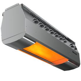 Rinnai RSE1S50SP 50,000 BTU Overhead Single Stage Gas Heater - Liquid Propane - Stainless Steel