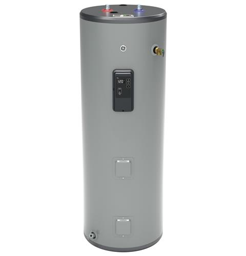 GE GE50T10BLM 50 Gallon Tall Electric Water Heater with Built-in WiFi - 240 Volt - 10 Year Warranty