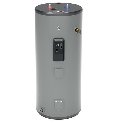 GE GE40S10BLM 40 Gallon Short Electric Water Heater with Built-in WiFi - 240 Volt - 10 Year Warranty