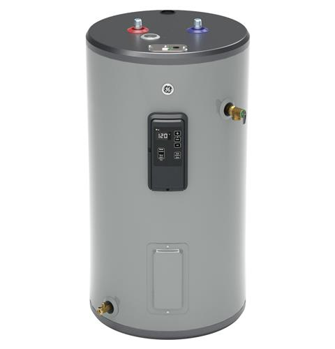 GE GE30S12BLM 30 Gallon Short Electric Water Heater with Built-in WiFi - 240 Volt - 12 Year Warranty