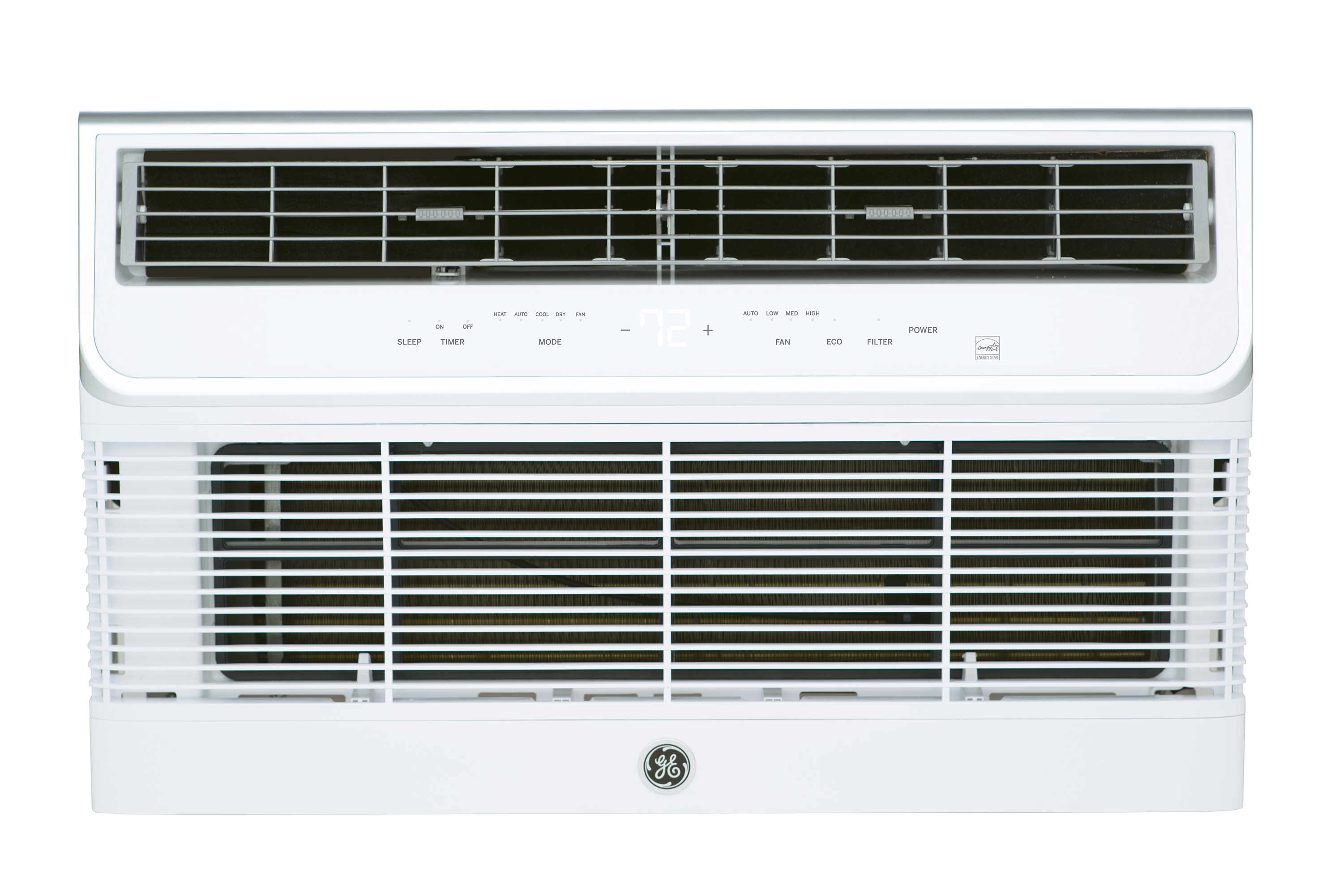 General Electric AJEQ12DWH 12000 BTU Thru-the-Wall Room Air Conditioner with Electric Heat - 208/230 Volt