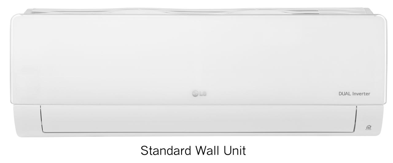 LG LMU240HV Configurable Tri-Zone Mini-Split Air Conditioner with Heat Pump - 24000 BTU, Energy Star