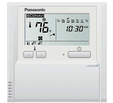 Panasonic CZ-RTC4 Wired Remote Controller with 7 Day Timer and EcoNavi Compatible