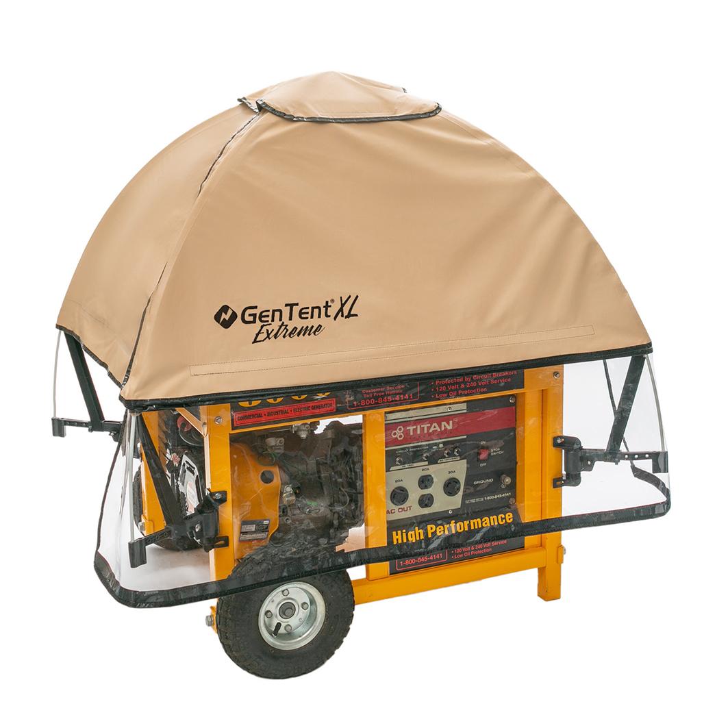 GenTent GTXPFUA XL Universal Generator Running Cover