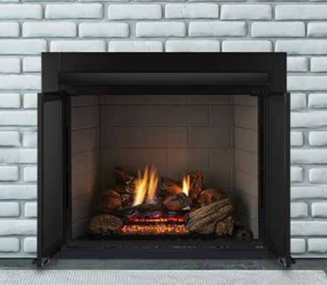 """Monessen LCUF32CR-C 32"""" Vent-Free Lo-Rider Clean Face Firebox with Standard Liner"""