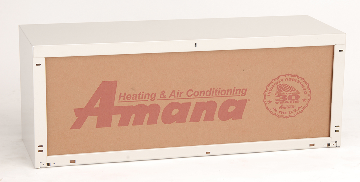 """Amana WS900E 42"""" Galvanized Insulated Steel Wall Sleeve - Required for new installation."""