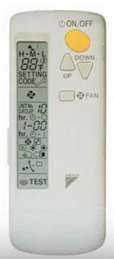 Daikin BRC082A42W Wireless Remote for Vista Ceiling Cassette