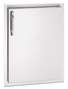 """American Outdoor Grill 20-14-SSDR 20"""" x 14"""" Single Storage Door with Right Hinge"""