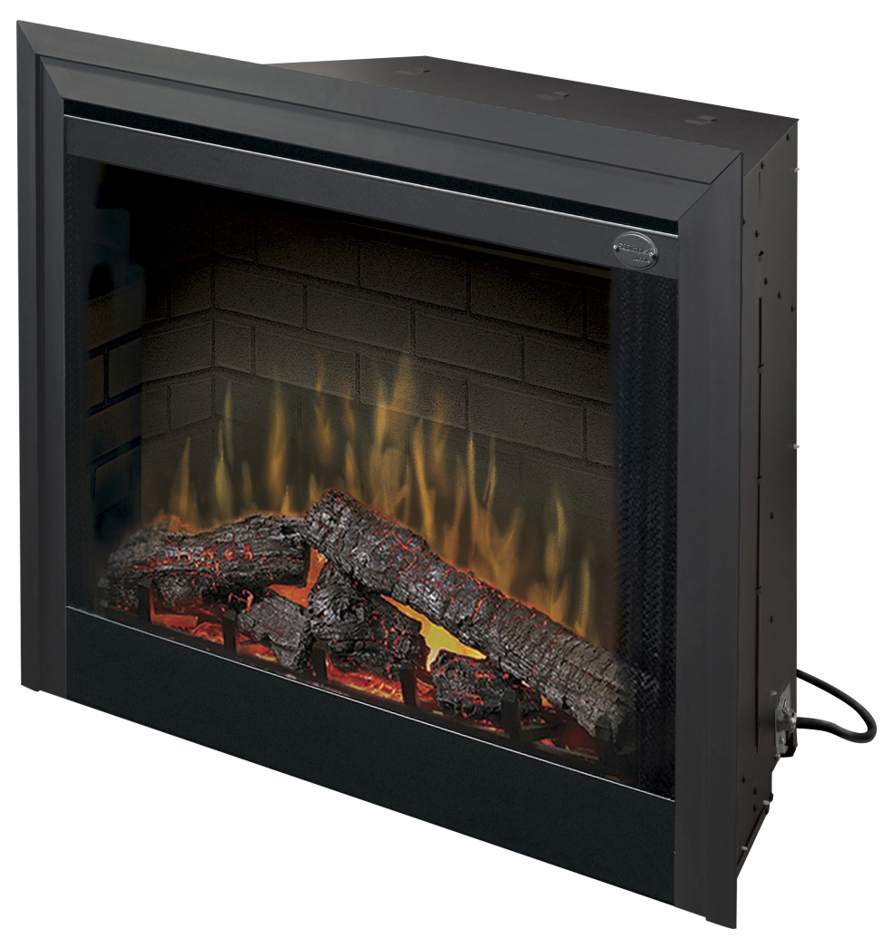 """Dimplex BF33DXP 33"""" Built-In Electric Firebox with Purifire Air Treatment System"""