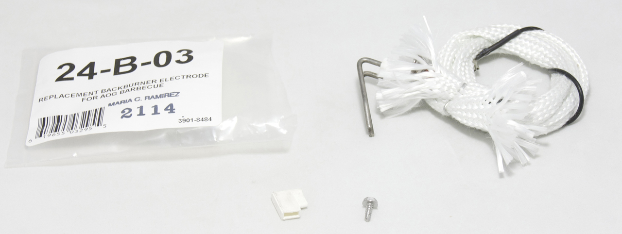 American Outdoor Grill 24-B-03 Backburner Electrode Replacement Kit