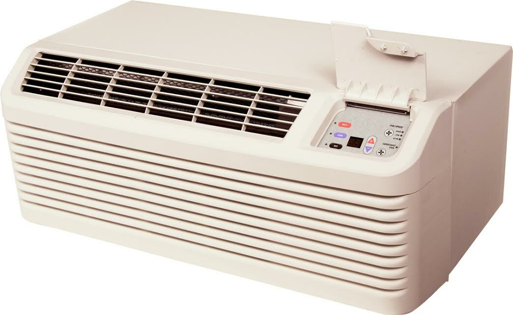 Amana PTH094G35AXXX 9000 BTU PTAC Air Conditioner with Heat Pump - 20 Amp